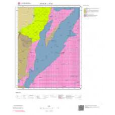 J17b3 Paftası 1/25.000 Ölçekli Vektör Jeoloji Haritası