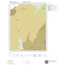 J17b4 Paftası 1/25.000 Ölçekli Vektör Jeoloji Haritası