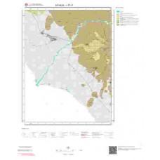 J17c1 Paftası 1/25.000 Ölçekli Vektör Jeoloji Haritası