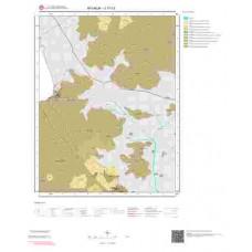 J17c3 Paftası 1/25.000 Ölçekli Vektör Jeoloji Haritası