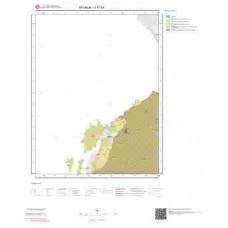 J17c4 Paftası 1/25.000 Ölçekli Vektör Jeoloji Haritası