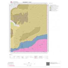 J18a1 Paftası 1/25.000 Ölçekli Vektör Jeoloji Haritası