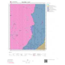 J18a3 Paftası 1/25.000 Ölçekli Vektör Jeoloji Haritası