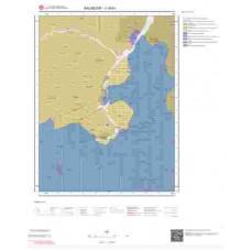 J18b1 Paftası 1/25.000 Ölçekli Vektör Jeoloji Haritası