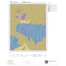 J18b2 Paftası 1/25.000 Ölçekli Vektör Jeoloji Haritası