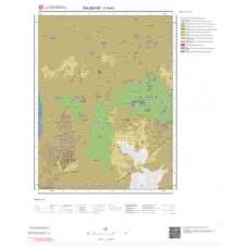 J19a1 Paftası 1/25.000 Ölçekli Vektör Jeoloji Haritası