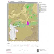 J19a2 Paftası 1/25.000 Ölçekli Vektör Jeoloji Haritası