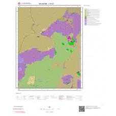 J19a3 Paftası 1/25.000 Ölçekli Vektör Jeoloji Haritası