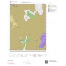 J19a4 Paftası 1/25.000 Ölçekli Vektör Jeoloji Haritası