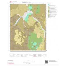J19b2 Paftası 1/25.000 Ölçekli Vektör Jeoloji Haritası