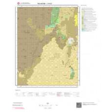 J19b3 Paftası 1/25.000 Ölçekli Vektör Jeoloji Haritası