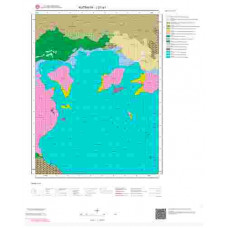 J21a1 Paftası 1/25.000 Ölçekli Vektör Jeoloji Haritası