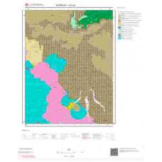 J21a2 Paftası 1/25.000 Ölçekli Vektör Jeoloji Haritası