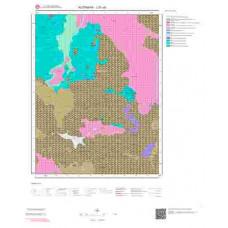 J21a3 Paftası 1/25.000 Ölçekli Vektör Jeoloji Haritası
