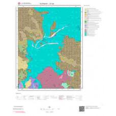 J21a4 Paftası 1/25.000 Ölçekli Vektör Jeoloji Haritası