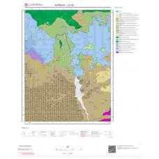 J21b2 Paftası 1/25.000 Ölçekli Vektör Jeoloji Haritası