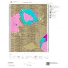 J21b4 Paftası 1/25.000 Ölçekli Vektör Jeoloji Haritası