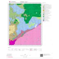 J22a1 Paftası 1/25.000 Ölçekli Vektör Jeoloji Haritası