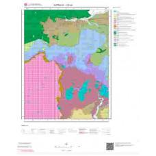 J22a2 Paftası 1/25.000 Ölçekli Vektör Jeoloji Haritası