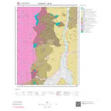 J22a3 Paftası 1/25.000 Ölçekli Vektör Jeoloji Haritası