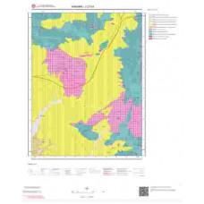 J27a1 Paftası 1/25.000 Ölçekli Vektör Jeoloji Haritası
