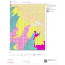 J27a2 Paftası 1/25.000 Ölçekli Vektör Jeoloji Haritası