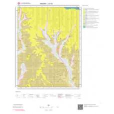 J27a4 Paftası 1/25.000 Ölçekli Vektör Jeoloji Haritası