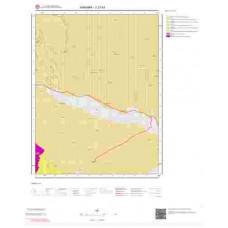 J27b1 Paftası 1/25.000 Ölçekli Vektör Jeoloji Haritası