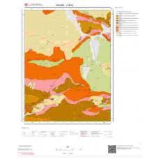 J28b2 Paftası 1/25.000 Ölçekli Vektör Jeoloji Haritası