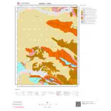 J28b4 Paftası 1/25.000 Ölçekli Vektör Jeoloji Haritası