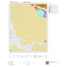 J28c1 Paftası 1/25.000 Ölçekli Vektör Jeoloji Haritası