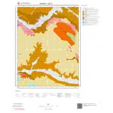 J28c2 Paftası 1/25.000 Ölçekli Vektör Jeoloji Haritası