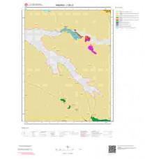 J28c3 Paftası 1/25.000 Ölçekli Vektör Jeoloji Haritası