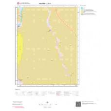 J28d1 Paftası 1/25.000 Ölçekli Vektör Jeoloji Haritası