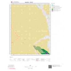 J28d2 Paftası 1/25.000 Ölçekli Vektör Jeoloji Haritası