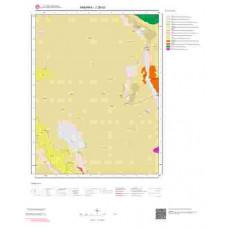 J28d3 Paftası 1/25.000 Ölçekli Vektör Jeoloji Haritası