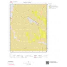 J28d4 Paftası 1/25.000 Ölçekli Vektör Jeoloji Haritası