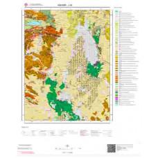 J29 Paftası 1/100.000 Ölçekli Vektör Jeoloji Haritası