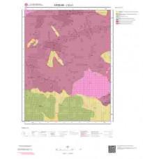 J32a1 Paftası 1/25.000 Ölçekli Vektör Jeoloji Haritası