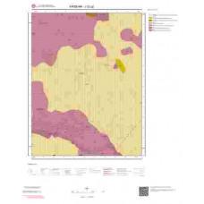 J32a2 Paftası 1/25.000 Ölçekli Vektör Jeoloji Haritası