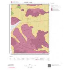 J32a3 Paftası 1/25.000 Ölçekli Vektör Jeoloji Haritası