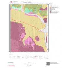 J32a4 Paftası 1/25.000 Ölçekli Vektör Jeoloji Haritası