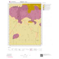 J32b1 Paftası 1/25.000 Ölçekli Vektör Jeoloji Haritası