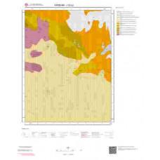 J32b2 Paftası 1/25.000 Ölçekli Vektör Jeoloji Haritası