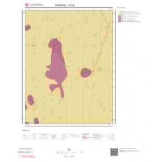J32b4 Paftası 1/25.000 Ölçekli Vektör Jeoloji Haritası