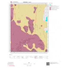 J32c1 Paftası 1/25.000 Ölçekli Vektör Jeoloji Haritası