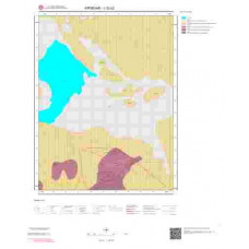 J32c2 Paftası 1/25.000 Ölçekli Vektör Jeoloji Haritası