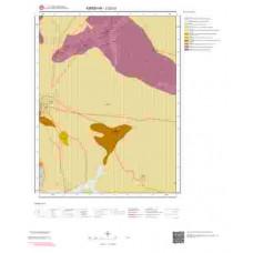 J32c3 Paftası 1/25.000 Ölçekli Vektör Jeoloji Haritası