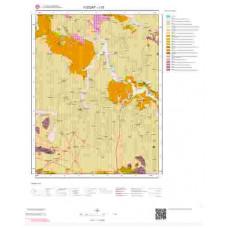J33 Paftası 1/100.000 Ölçekli Vektör Jeoloji Haritası