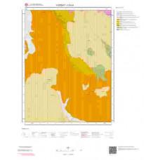 J33a1 Paftası 1/25.000 Ölçekli Vektör Jeoloji Haritası